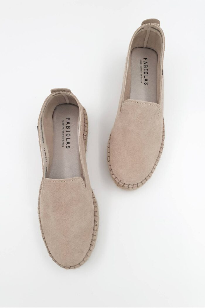 BEIGE SUEDE WOMAN SHOES