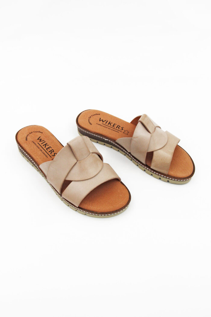 LEATHER TABA SANDAL