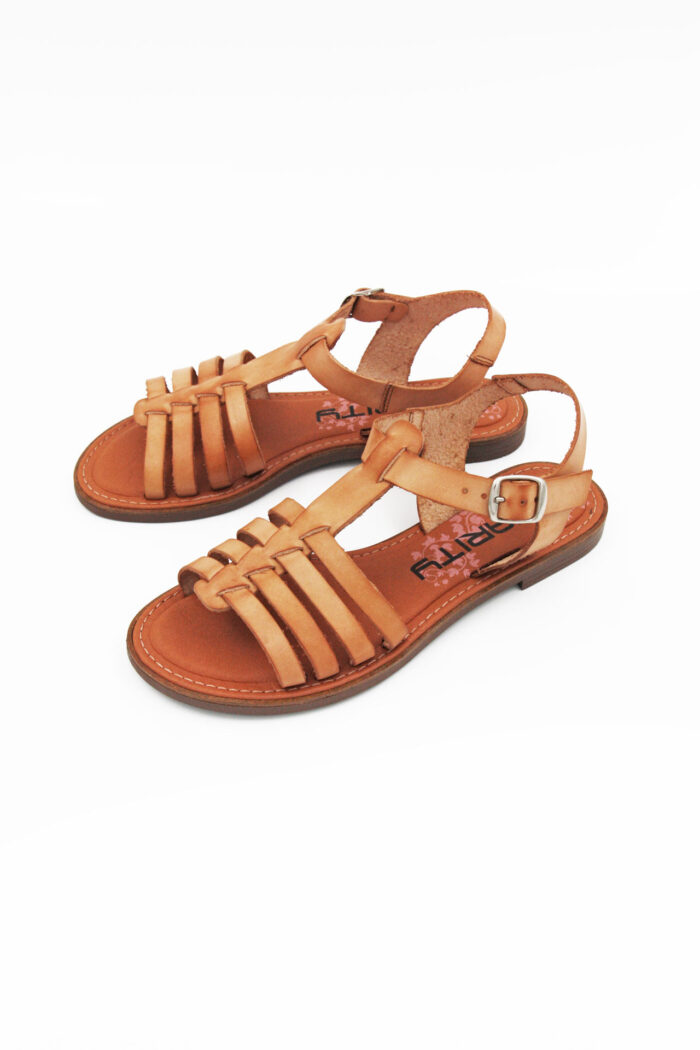 LEATHER FLAT ANCIENT GREEK SANDAL