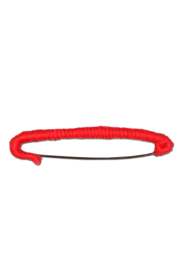 KNIT SAFETY PIN JULIET RED
