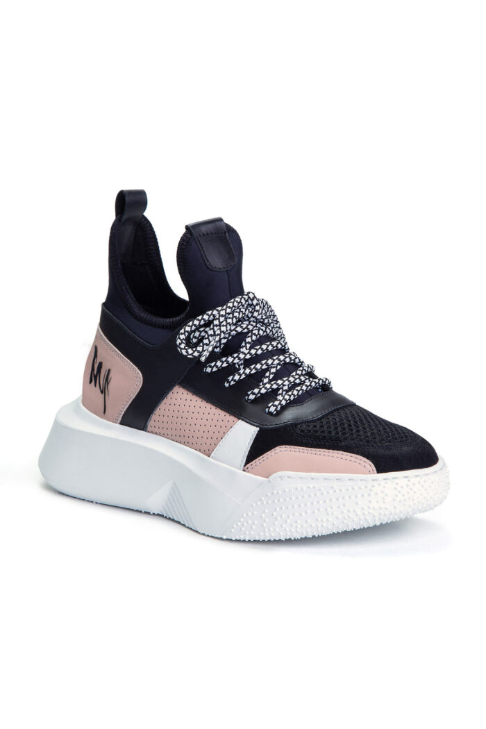 LEATHER SNEAKERS MULTICOLOR