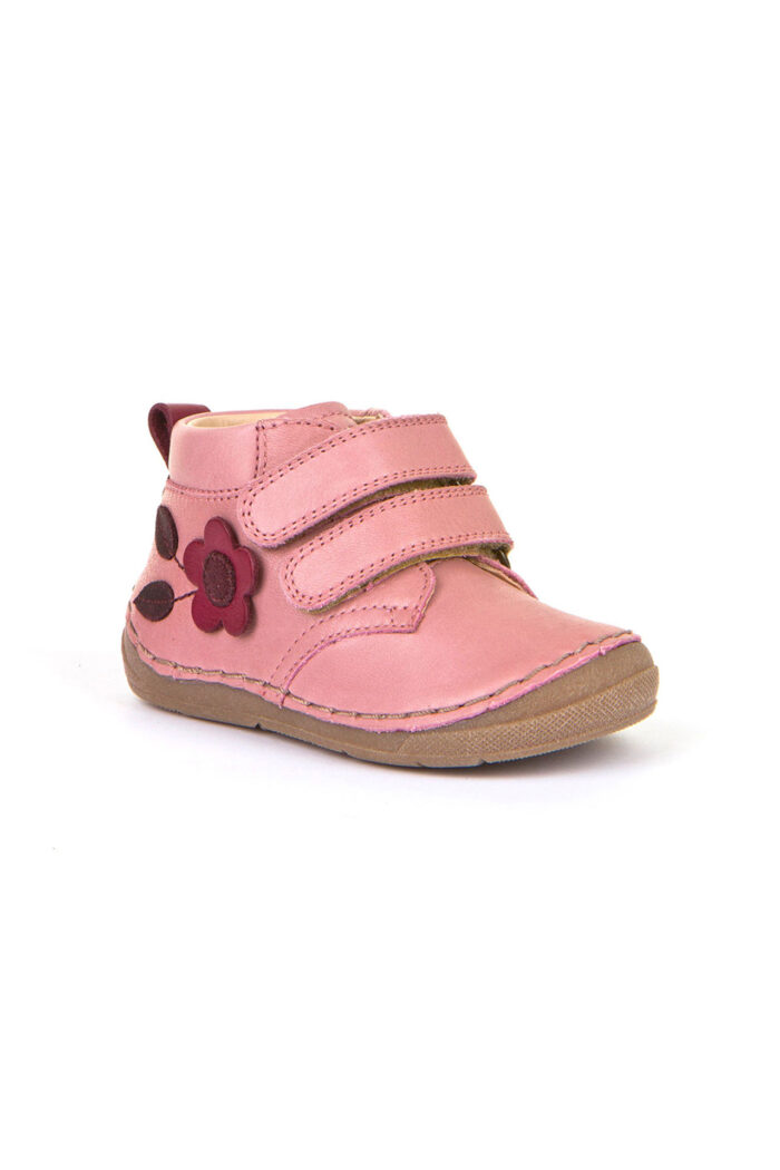 Girls' leather shoe pink