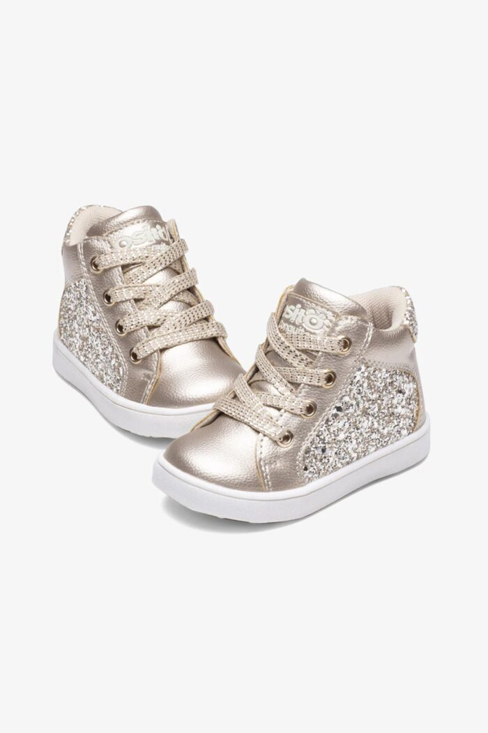 GIRL'S ANKLE BOOTS GOLD