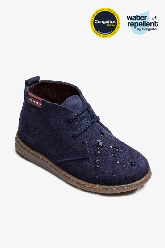 BOY'S BLUE WATER REPELLENT BOOTS