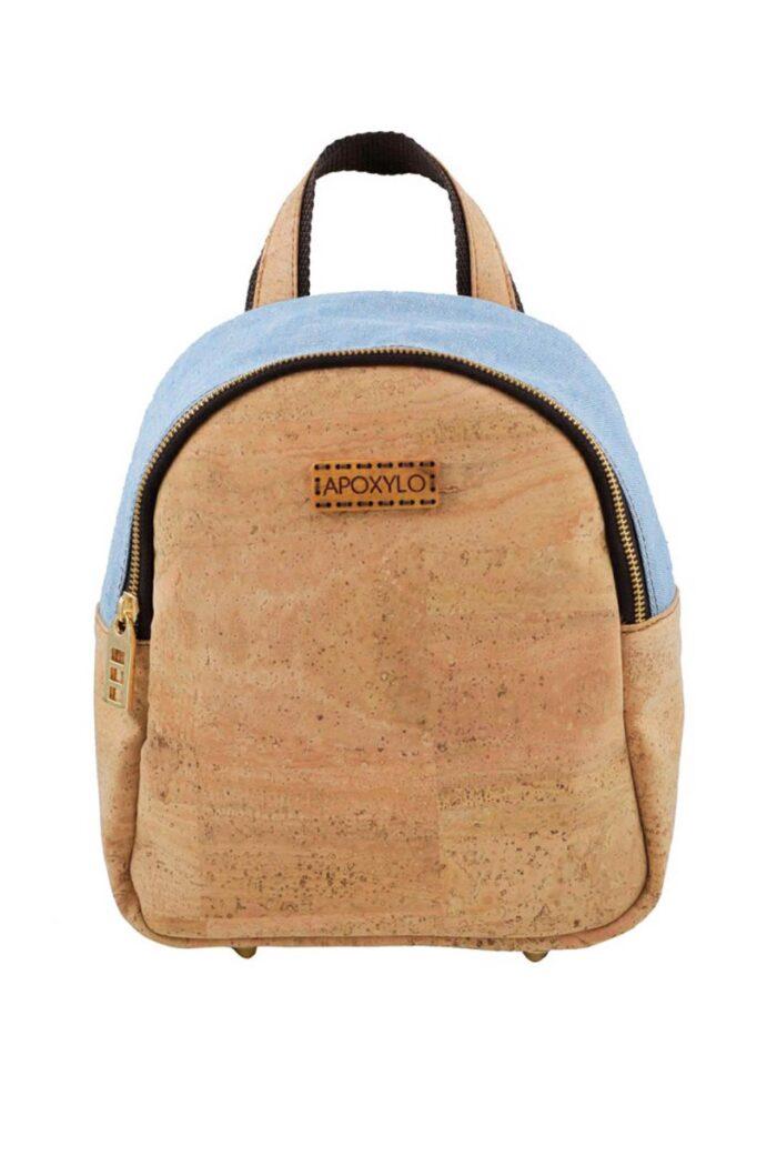 Backpack mini Fashion natural cork