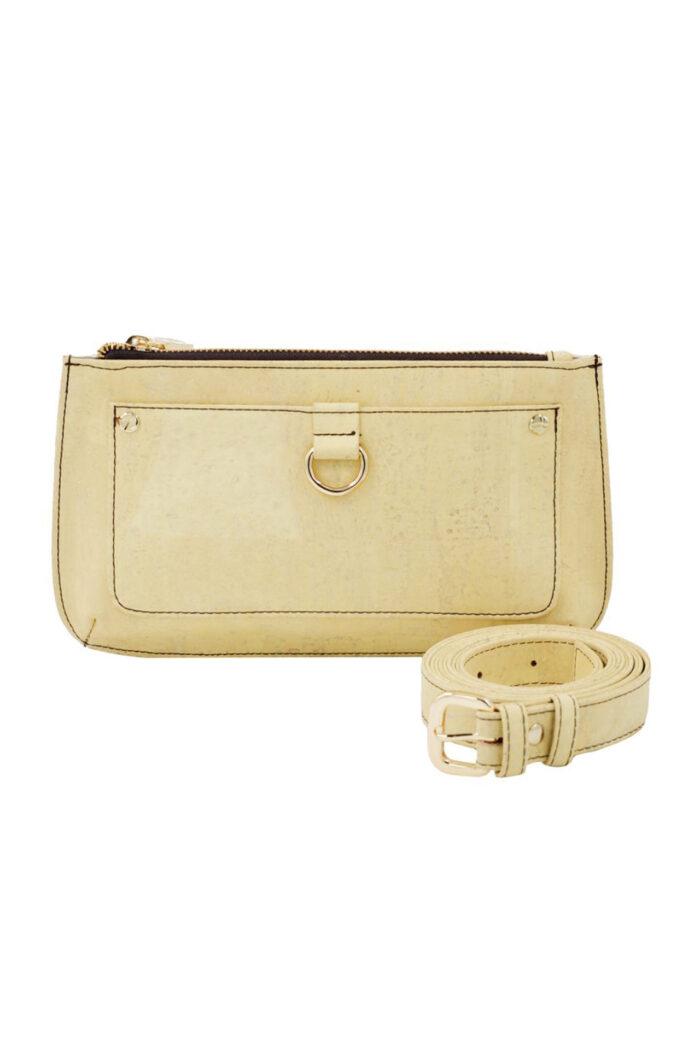 Belt Bag natural cork vanilla