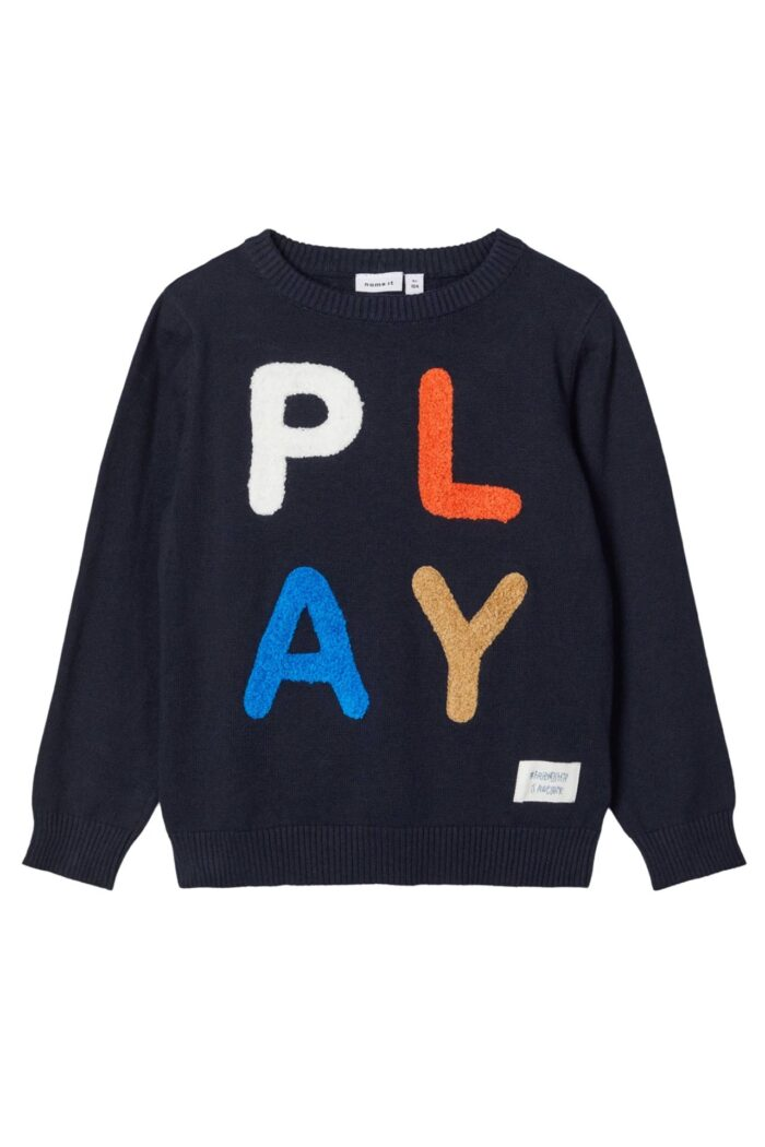 Play Knitted Jumper NAVY