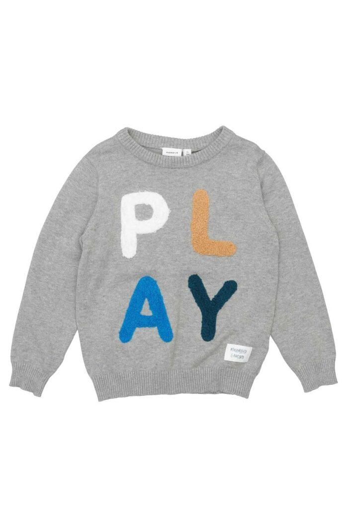 Play Knitted Jumper GREY