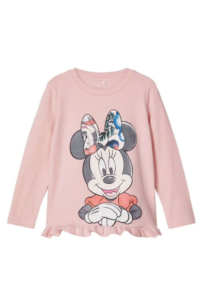 DISNEY MINNIE MOUSE BLOUSE PINK
