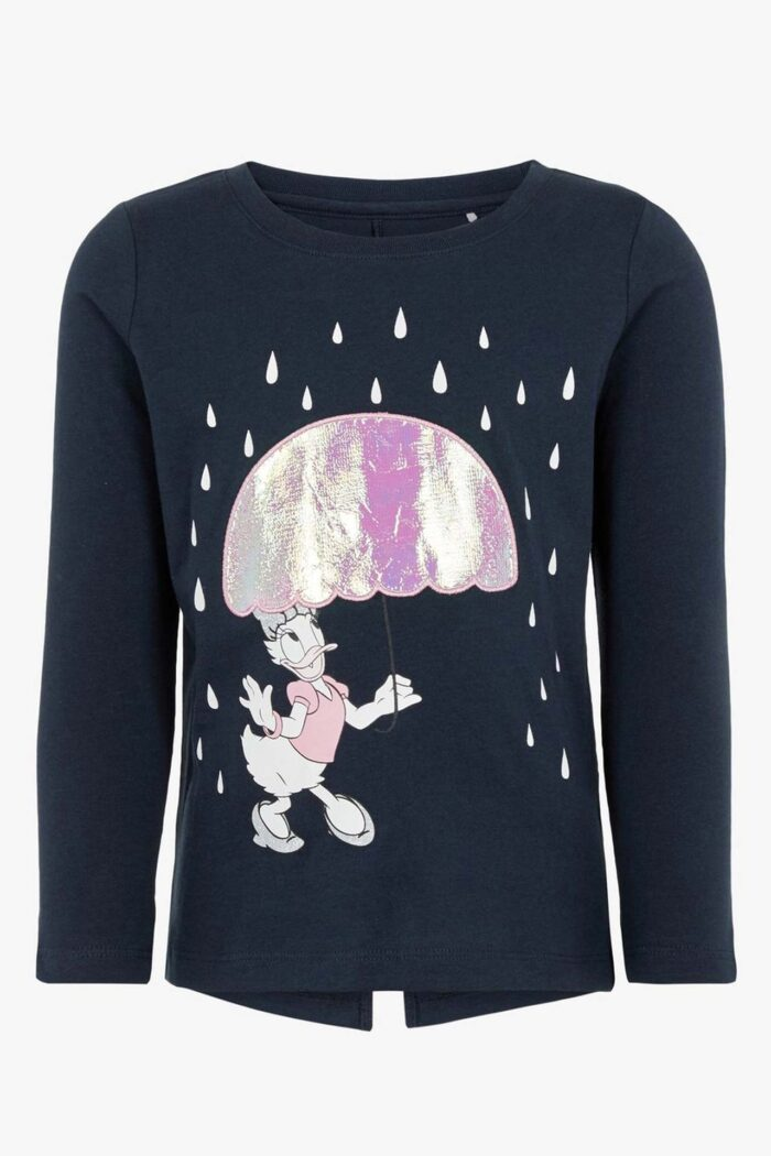DISNEY DAISY DUCK BLOUSE NAVY