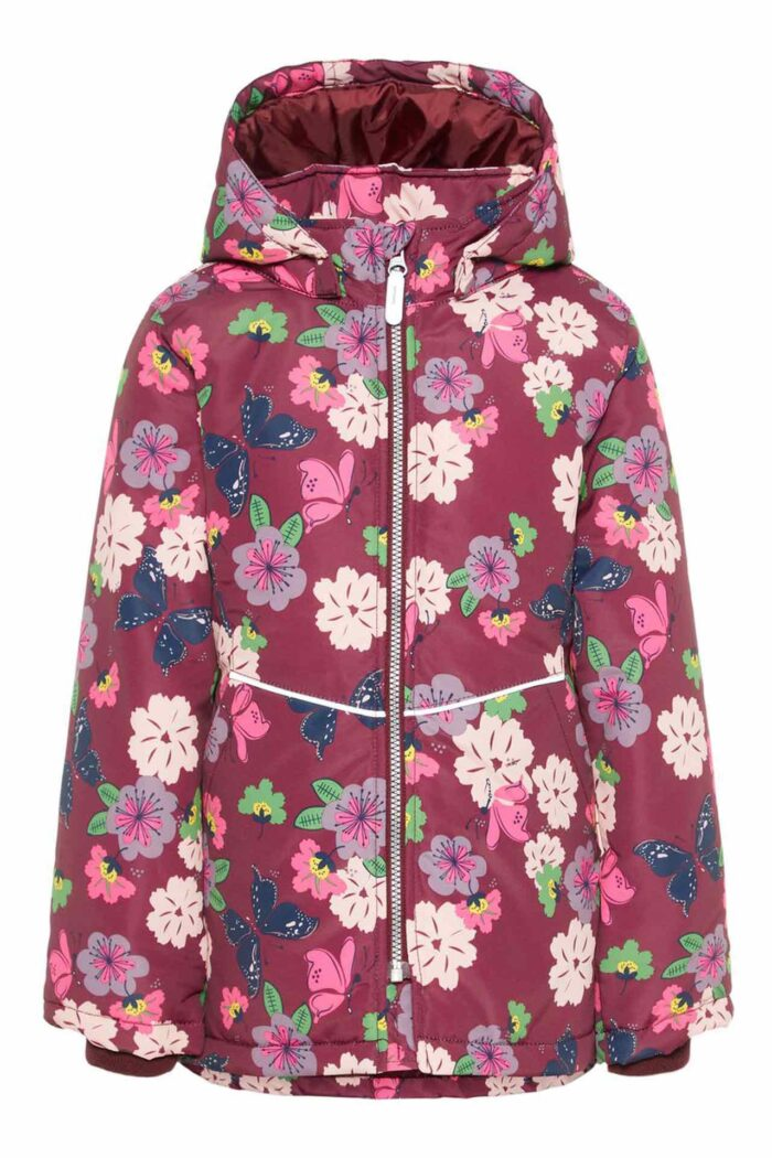 FLORAL - BUTTERFLY WARM JACKET