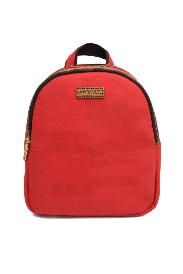 Backpack Cork Fashion Red