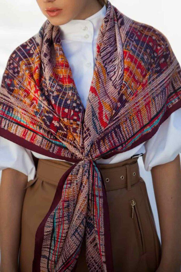 Silk foulard Dimitra