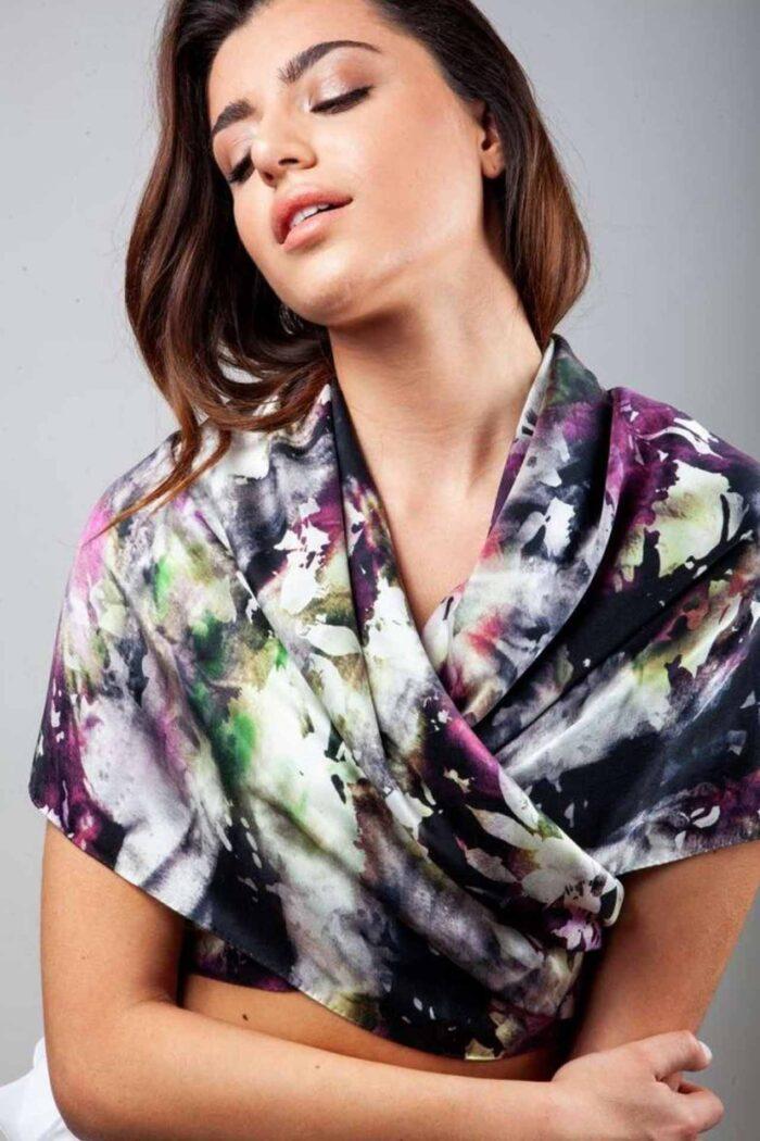 Silk foulard