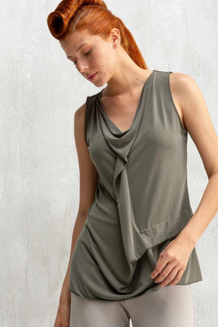 DRAPED TOP CLORIS