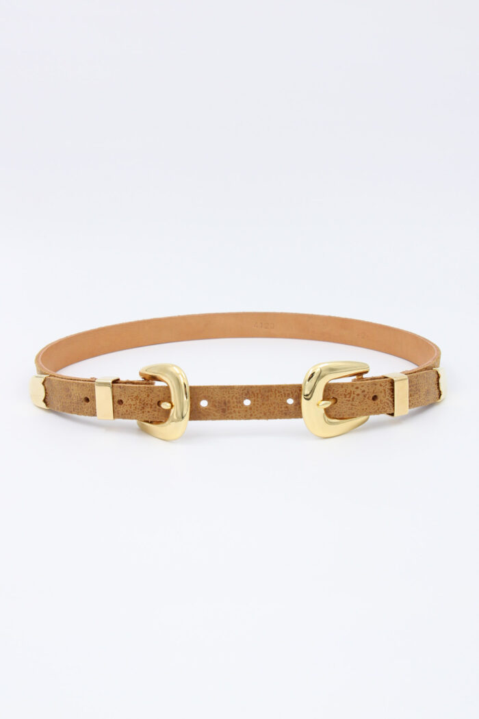 HANDCRAFTED LEATHER BELT taba
