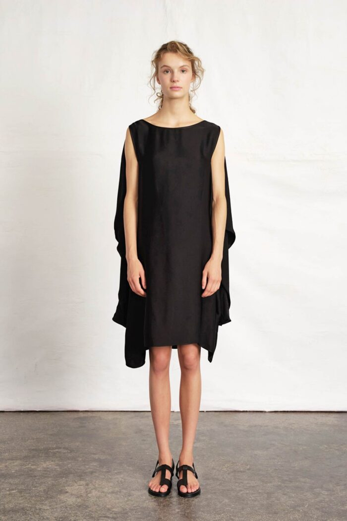 BLACK MINI DRESS VERSATILE FRESH IMAGINATION