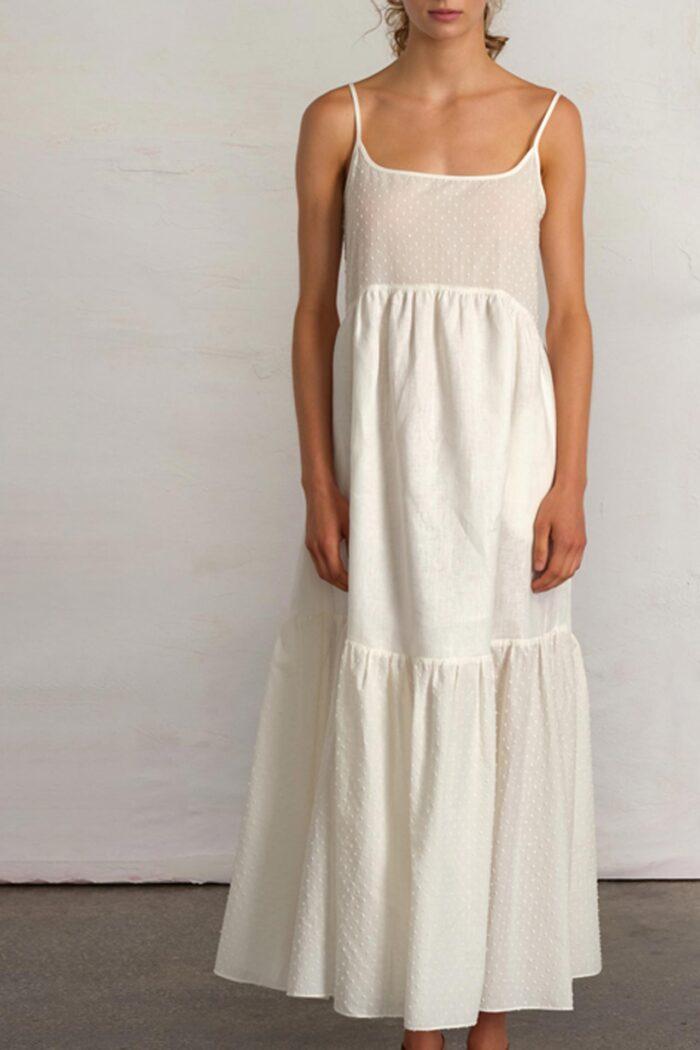 OFF WHITE MAXI DRESS DAYDREAM