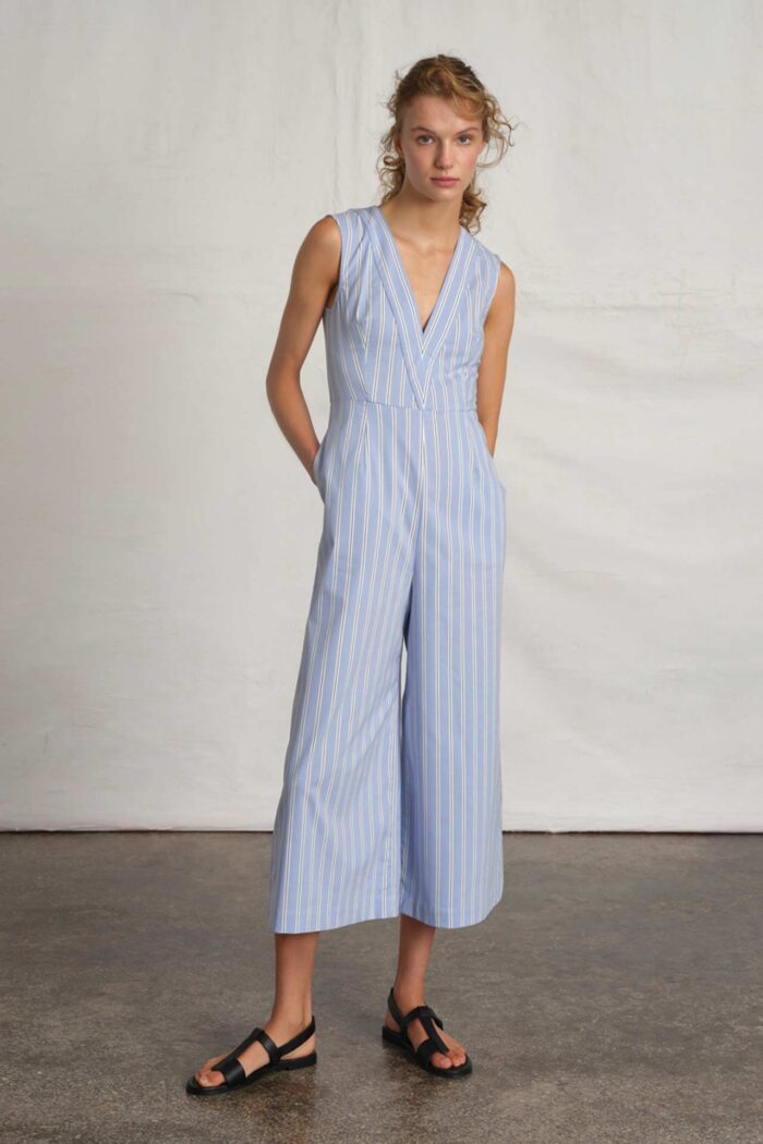 OVERALL PARASOL STRIPED