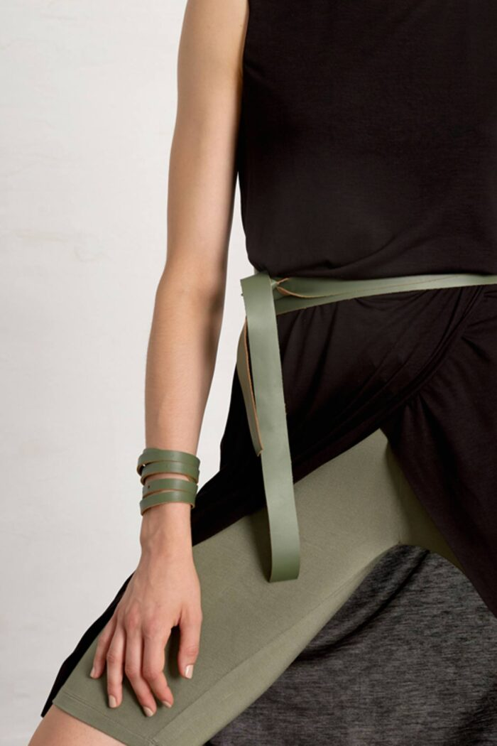 KIWI GREEN 436 BRACELET/BELT/NECKLACE