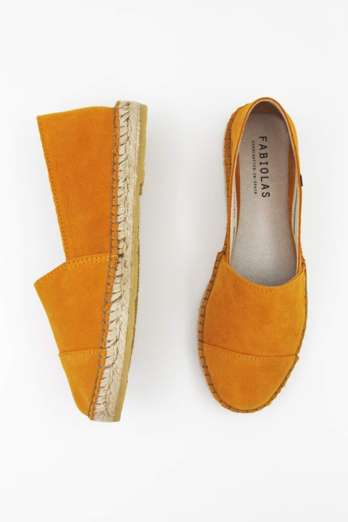 YELLOW SUEDE WOMAN SHOES YELLOW