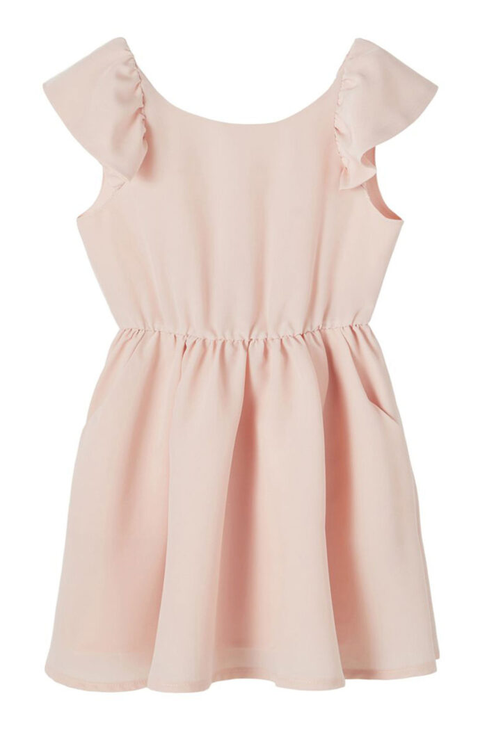 PEACH WHIP CAPSULE DRESS