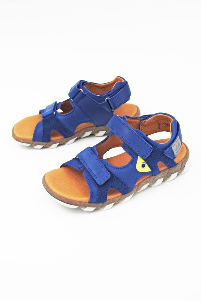 NAVY BLUE ANATOMIC SANDALS