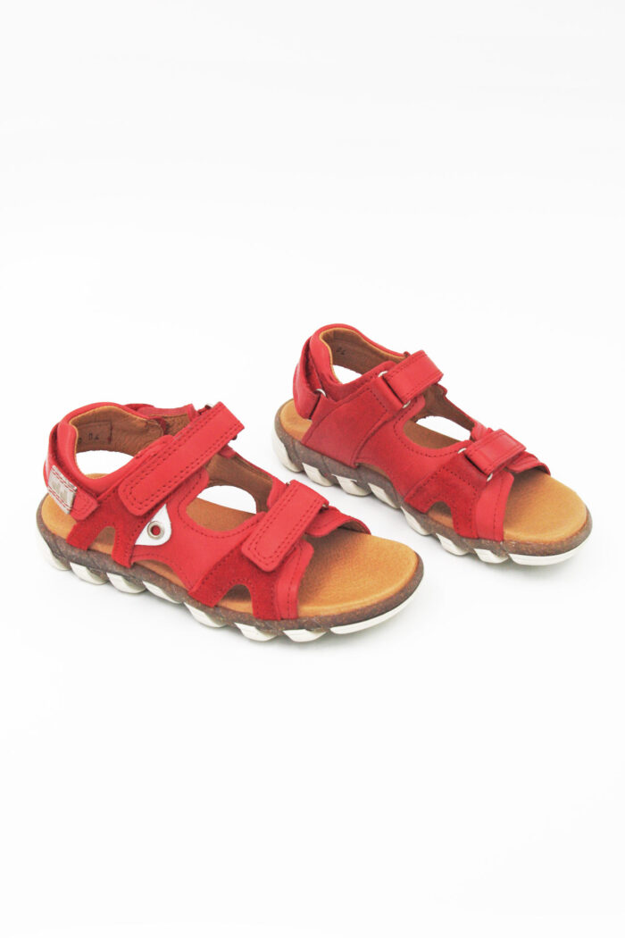 RED ANATOMIC SANDALS