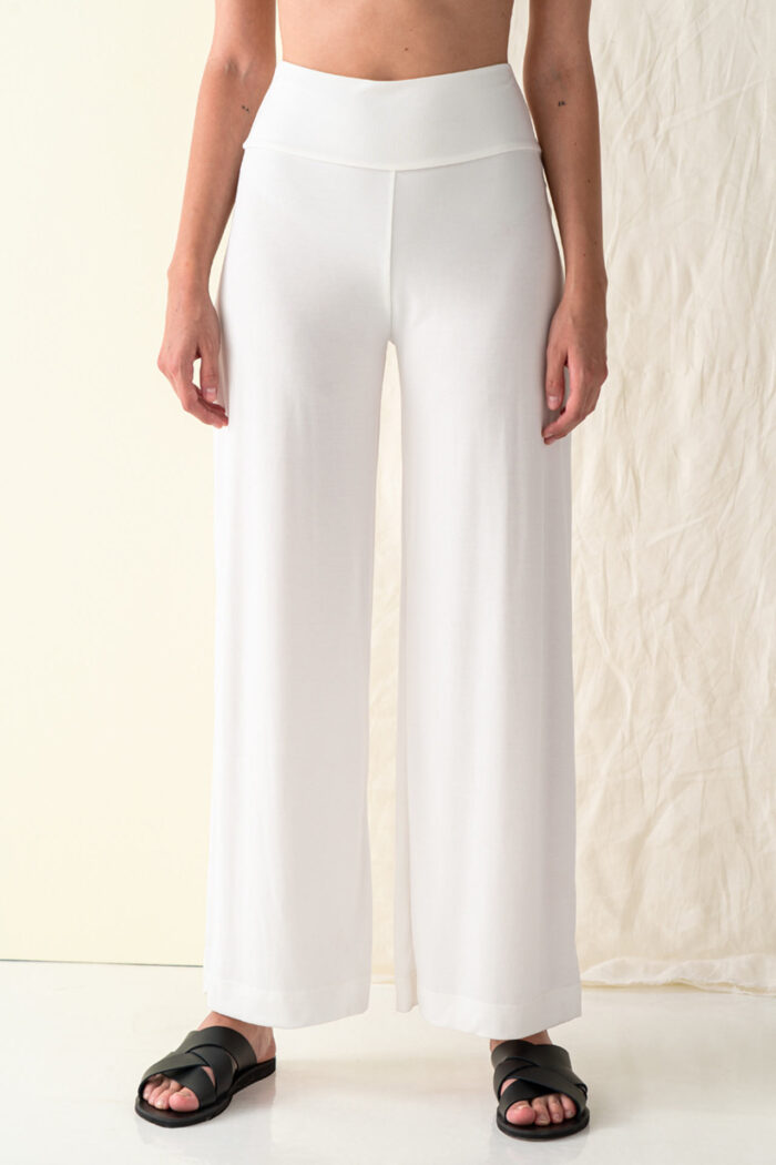 WHITE KINAROS BASIC TROUSERS