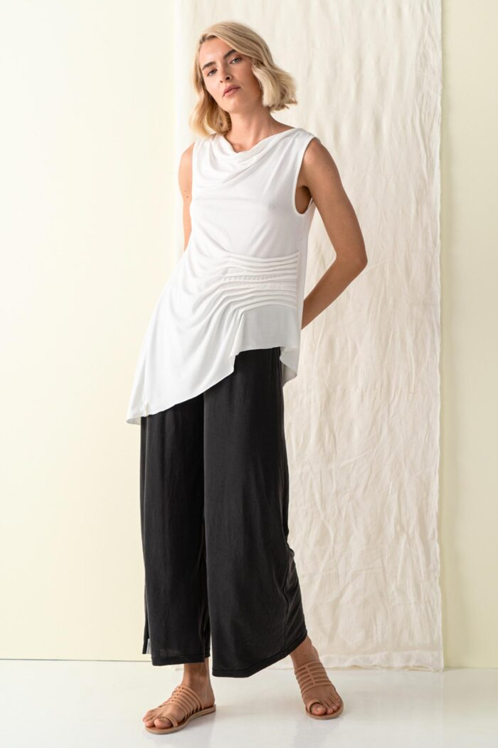 BLACK KINAROS BASIC TROUSERS