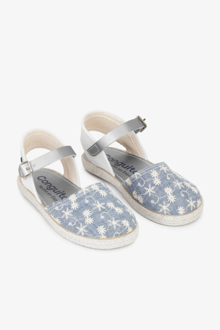 JEANS EMBROIDERY ESPADRILLES