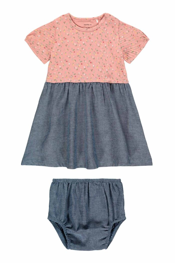 PINK BLOOMERS AND DRESS