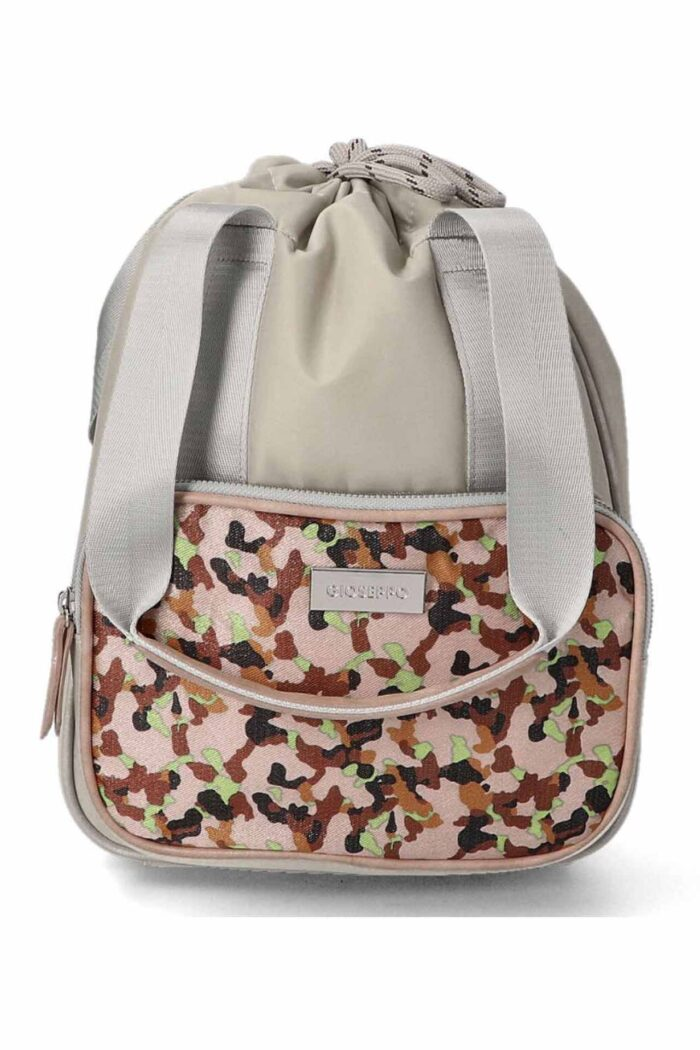 OFF WHITE MULTICOLOR BACKPACK WITH FRONT POCKET